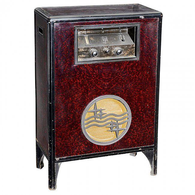 Philips Type 2601 Console Radio 1932 Vintage Radios