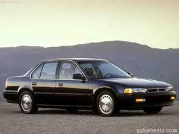 1990 Honda Accord Ex Black 4 Door Honda Accord Honda Honda Accord Ex