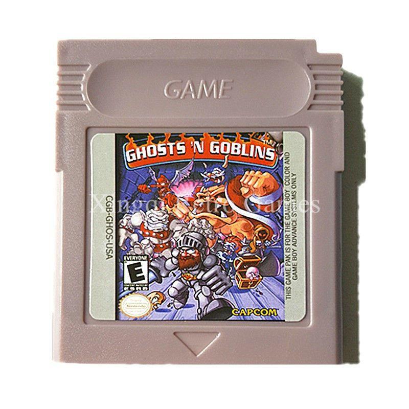 Nintendo GBC Game Ghost 'N Goblins Video Game Cartridge Console Card Gamboy #nintendo