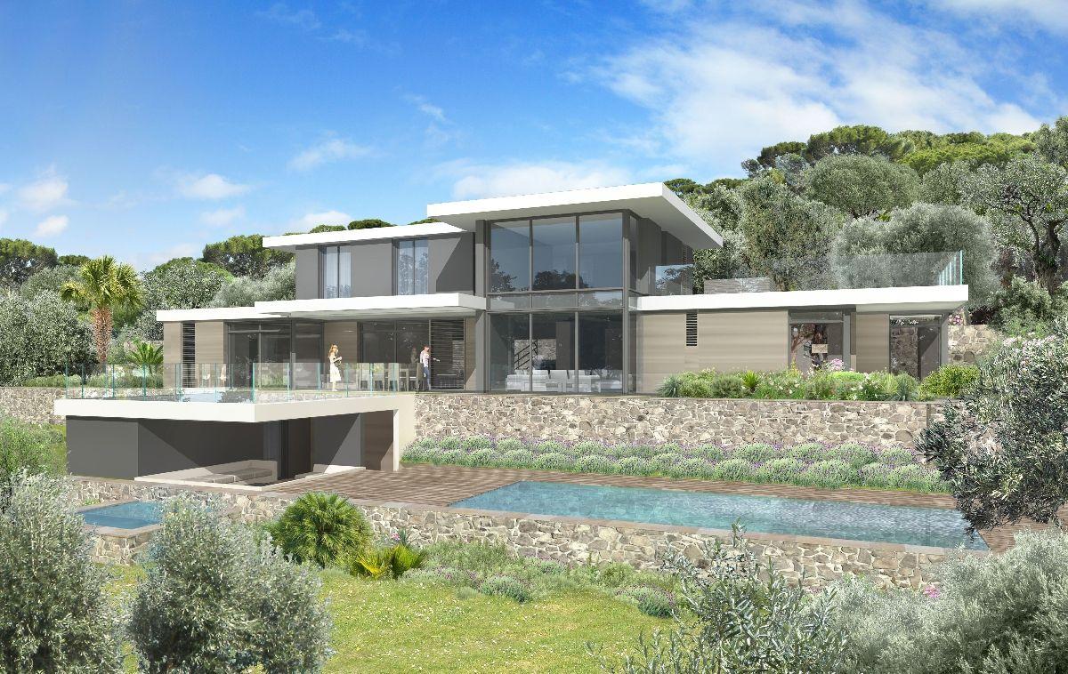bracco mougins villa chai archi pinterest modulaire maison cubique et maisons modulaires. Black Bedroom Furniture Sets. Home Design Ideas