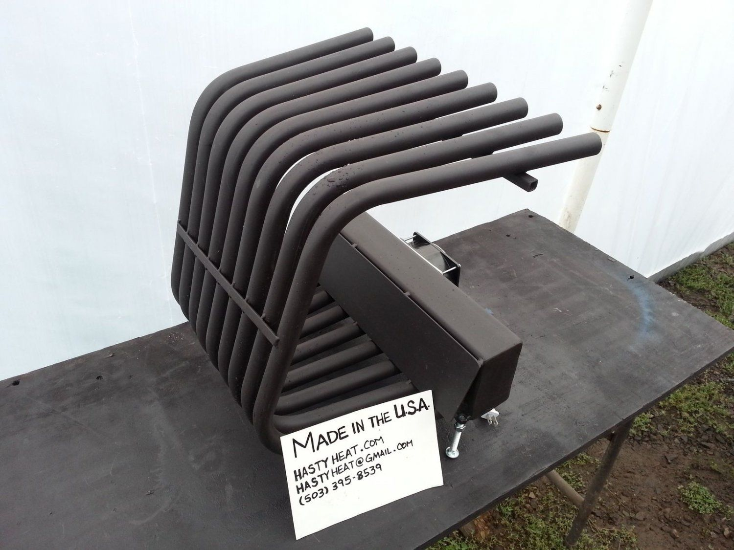 20TGR14TD Tapered Fireplace Grate Heat Exchanger Furnace