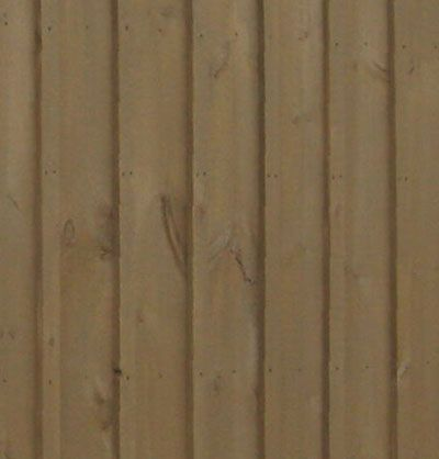 The type of siding used on the board and batten garages is for Type of siding board