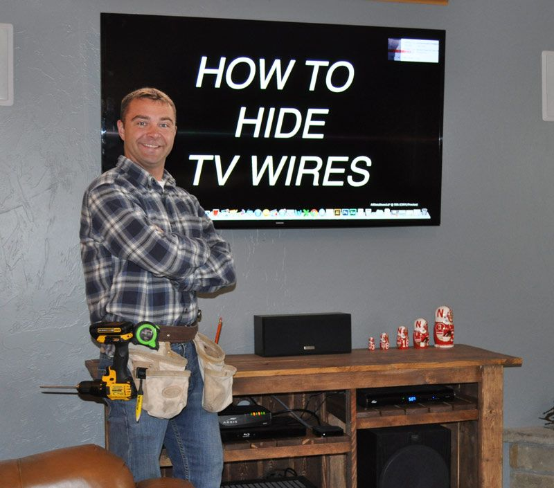 In Wall Tv Wiring Kit Home Depot