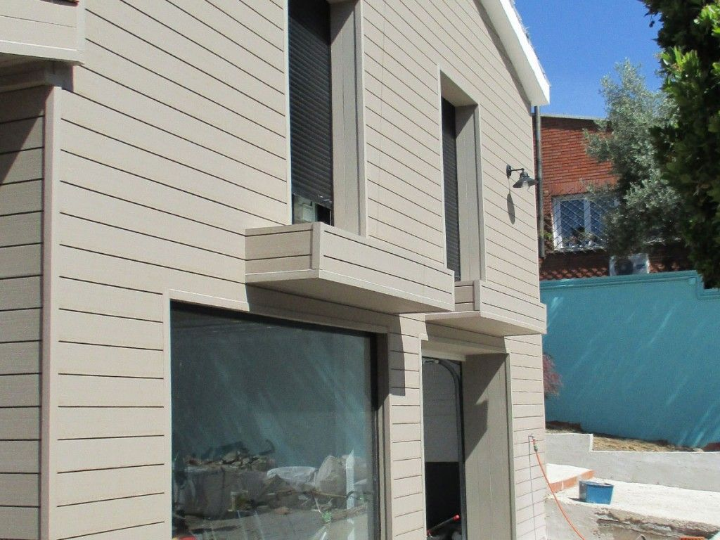 best wood plastic wall material for house, #exterior #wall panels ...