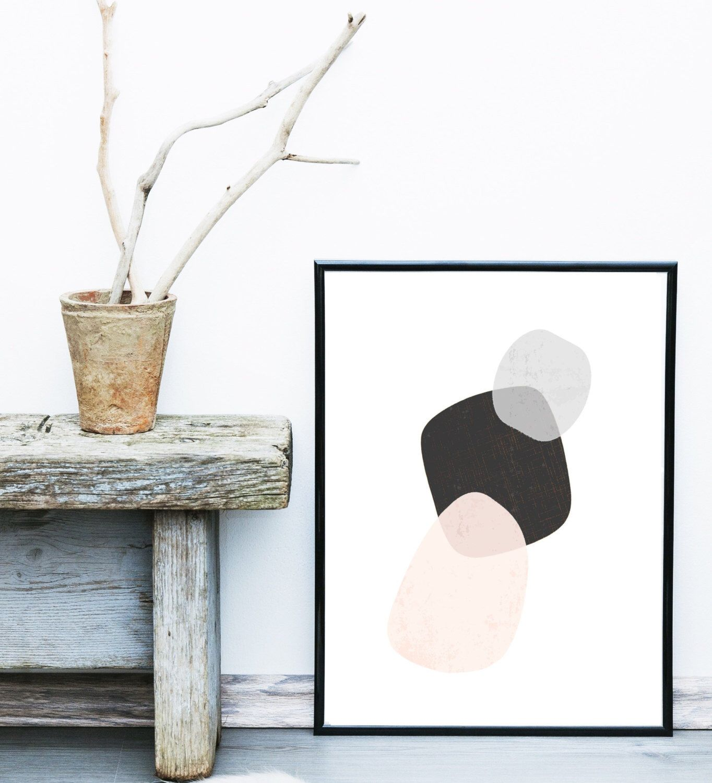 Skandinavische Poster scandinavian minimalist print abstract print giclee print