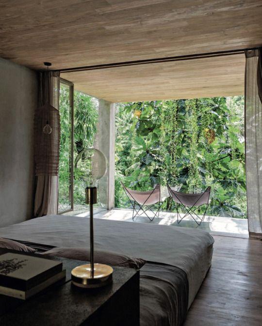 Madabout interior design into the wild villa chameleon in bali designed