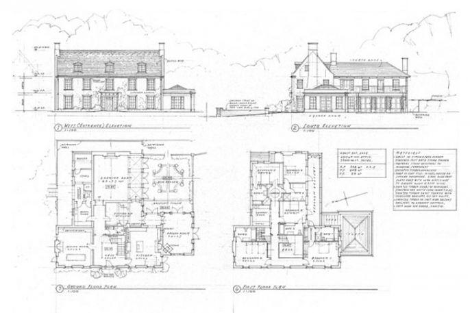 georgian farmhouse plans - Google Search   Building/House Ideas ...