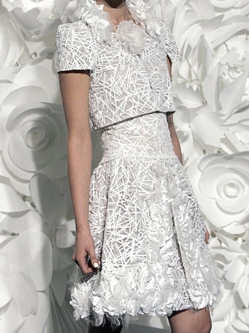 Chanel Haute Couture S/S 2009 - Detail