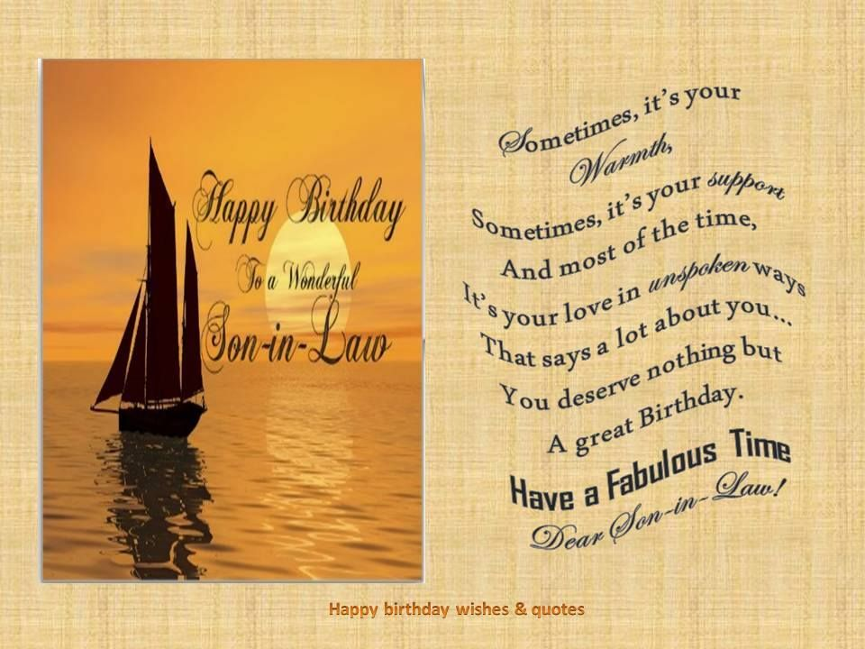 birthday greetings for son in law Google Search – Google Greetings for Birthday