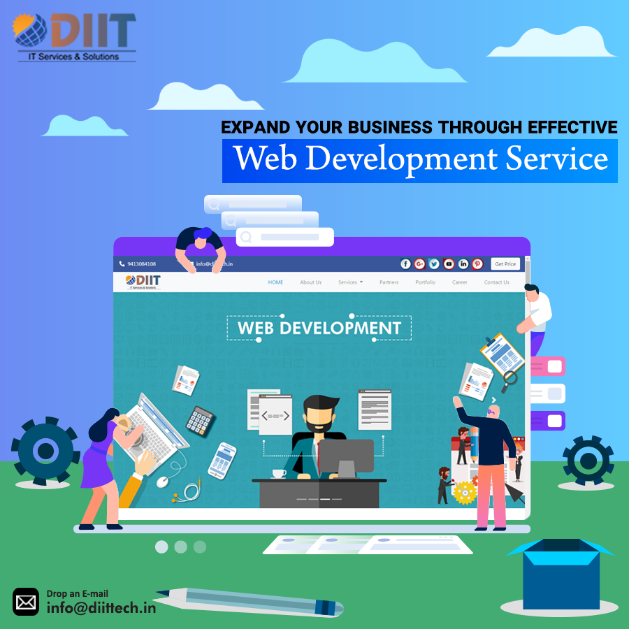 eca74b29f4 DIIT IT Services   Solutions simplify day to day business needs of  individual by providing various services such as website designing