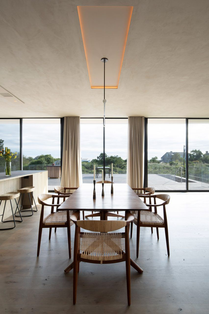 The Placement Of Each Volume Was Governed By The Interior Programme And A Desire To Provide Views Of The Natural Landscape In 2020 House Interior Design Design