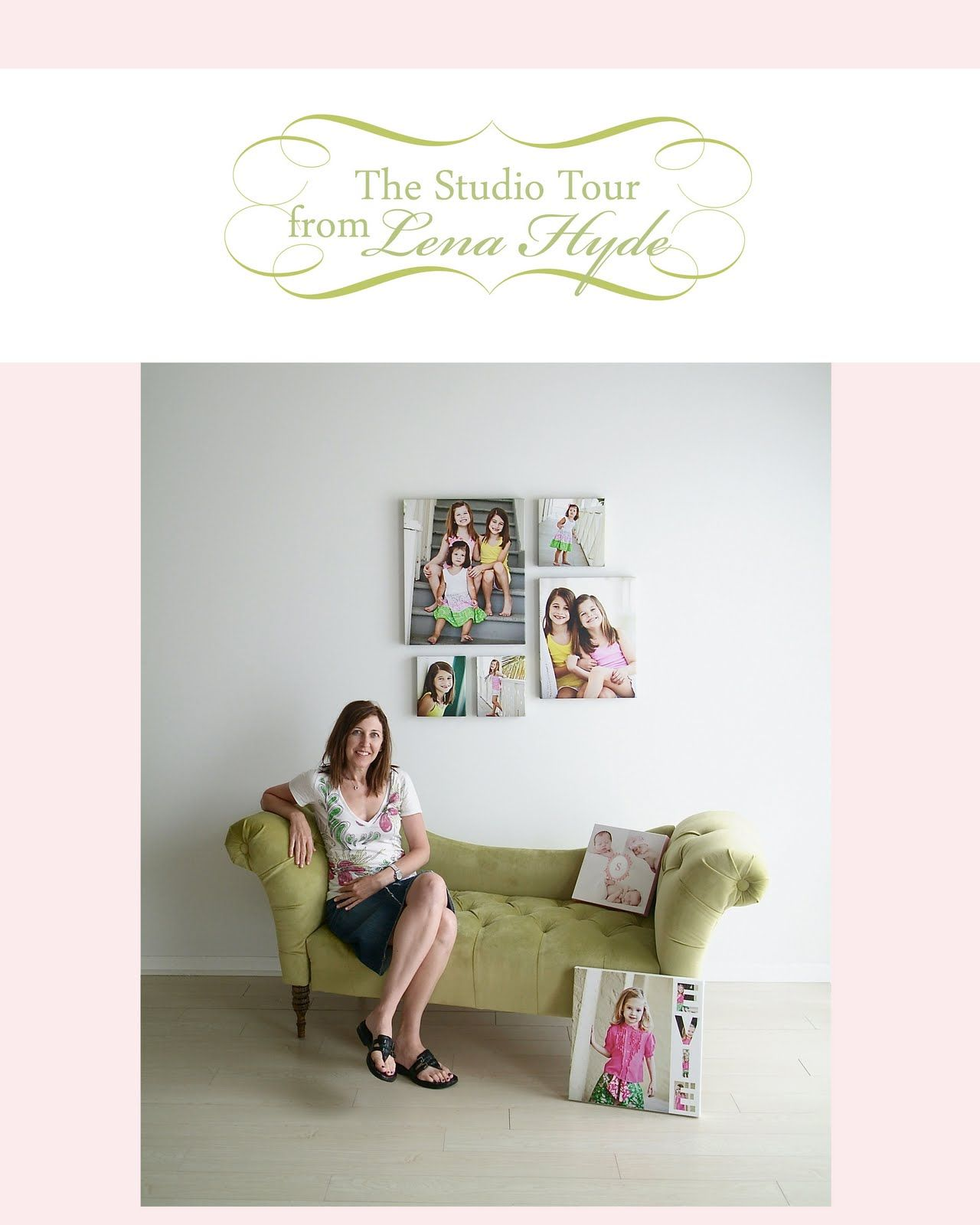 The Savvy Photographer: The Studio Tour from Lena Hyde