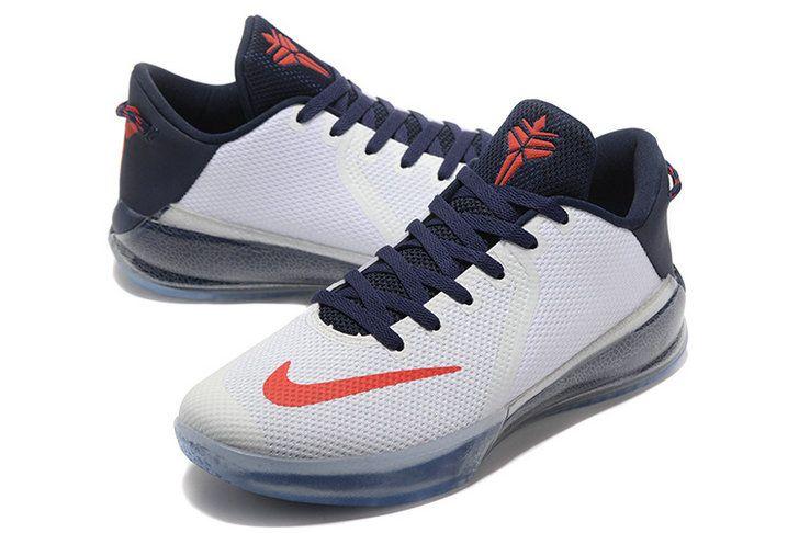 2017-2018 Newest And Cheapest Nike Kobe Zoom Kobe Venomenon 6 V USA White  Navy Red | New Fashion shoes | Pinterest | Kobe, Navy and Popular shoes