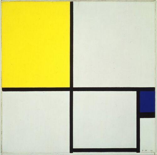 Piet Mondriaan 1872 1944 Compositie No Ii Oil On Canvas