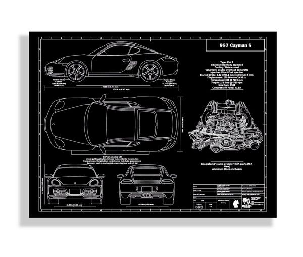 The very first #Porsche for this month #987 #Cayman What do you - copy car blueprint website