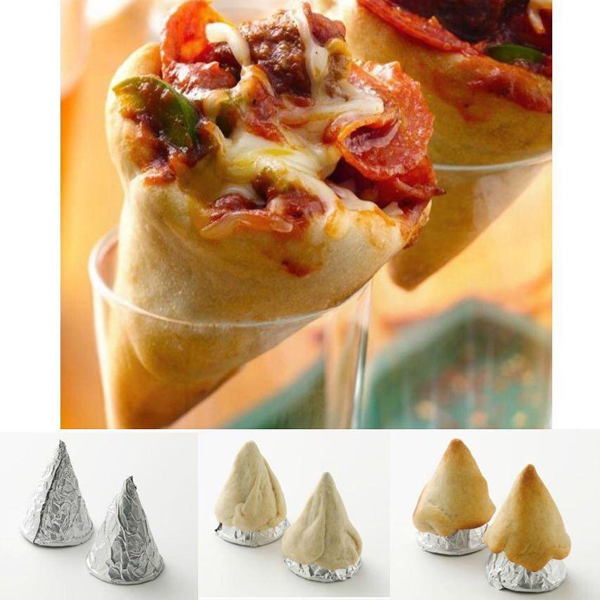 Pizza Cones Credit Wwwtablespooncom Ingredients 1 Can