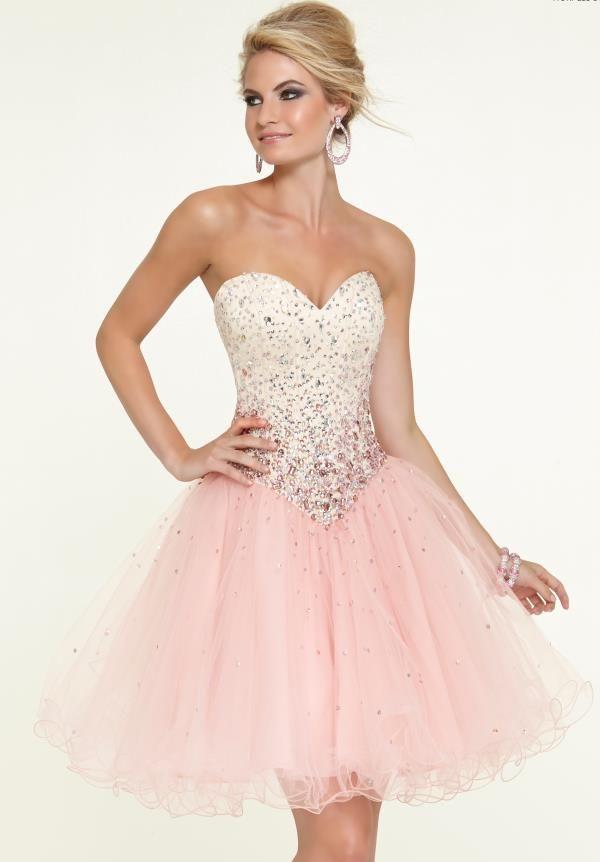 Mori Lee Sticks & Stones Tulle Skirt Party Dress 9311 | Pinterest ...