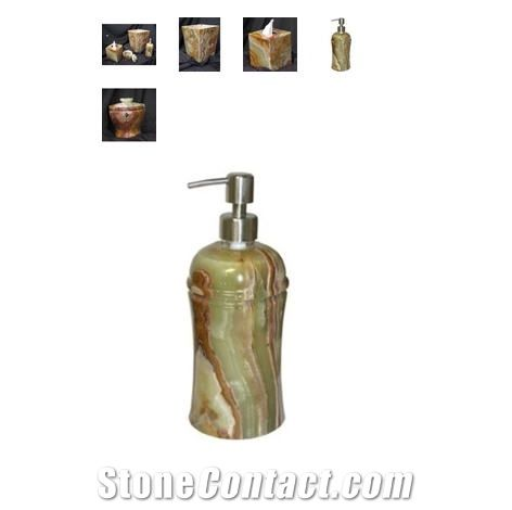 stone coloured bathroom accessories. Green Onyx Stone Bathroom Accessory Set Multicolor Bath  Accessories from United States the Details Include Pictures Sizes Color Material and 4pc