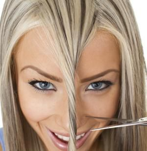 A Guide To Cut Your Own Hair Go For It Girls Hair Stuff