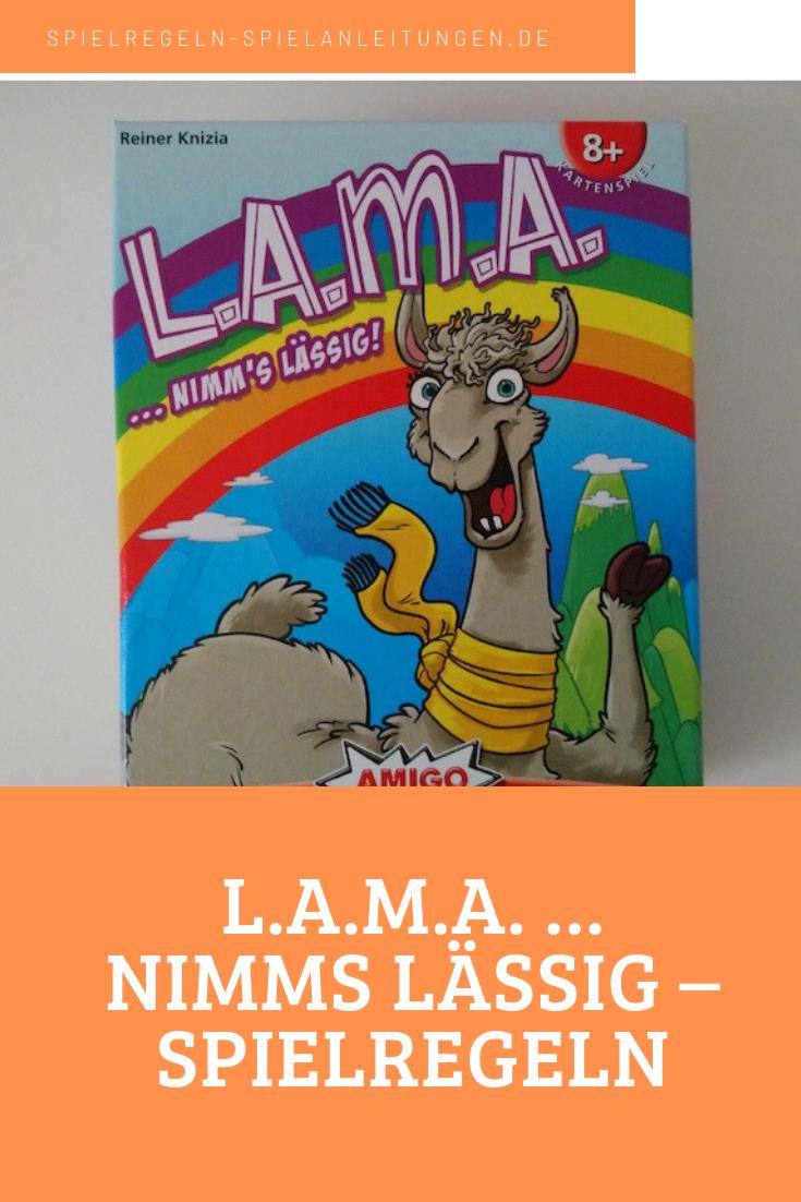 Kartenspiel LAMA.. nimm`s lässig!