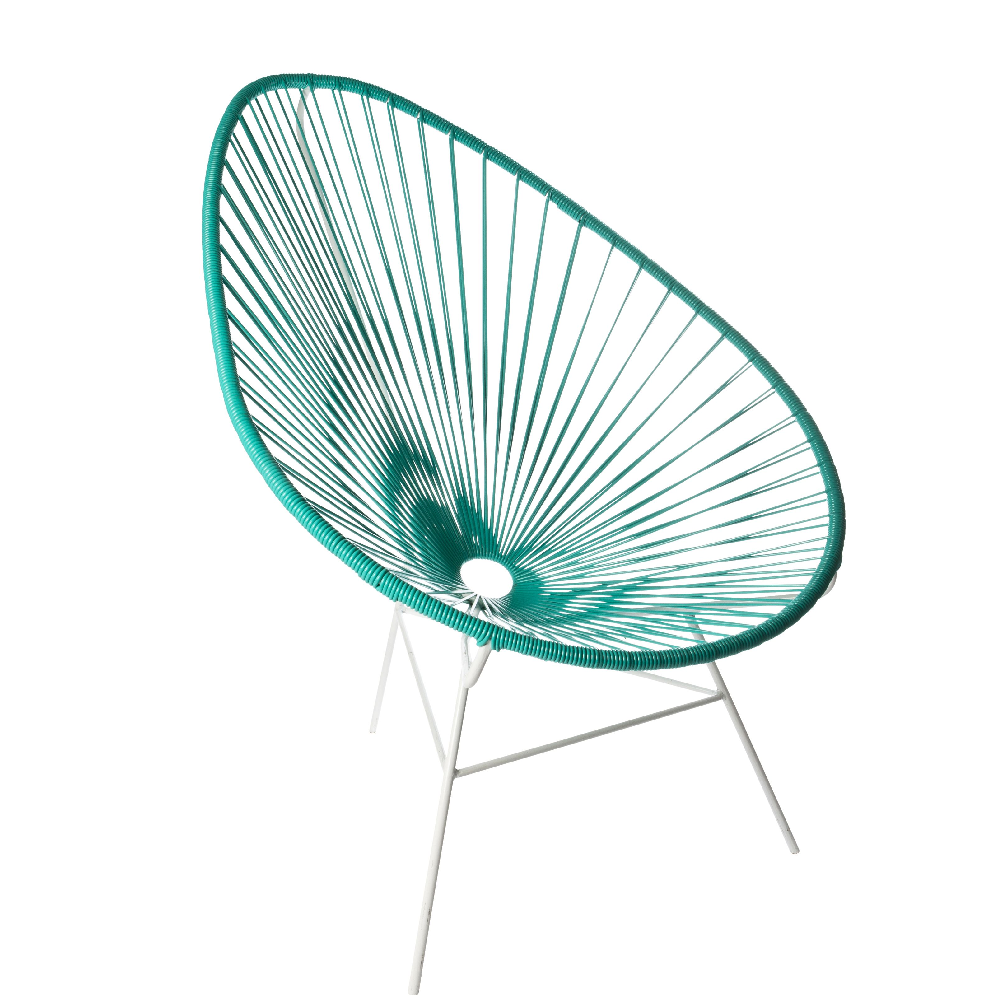 Acapulco chair vintage - Green Acapulco Chair