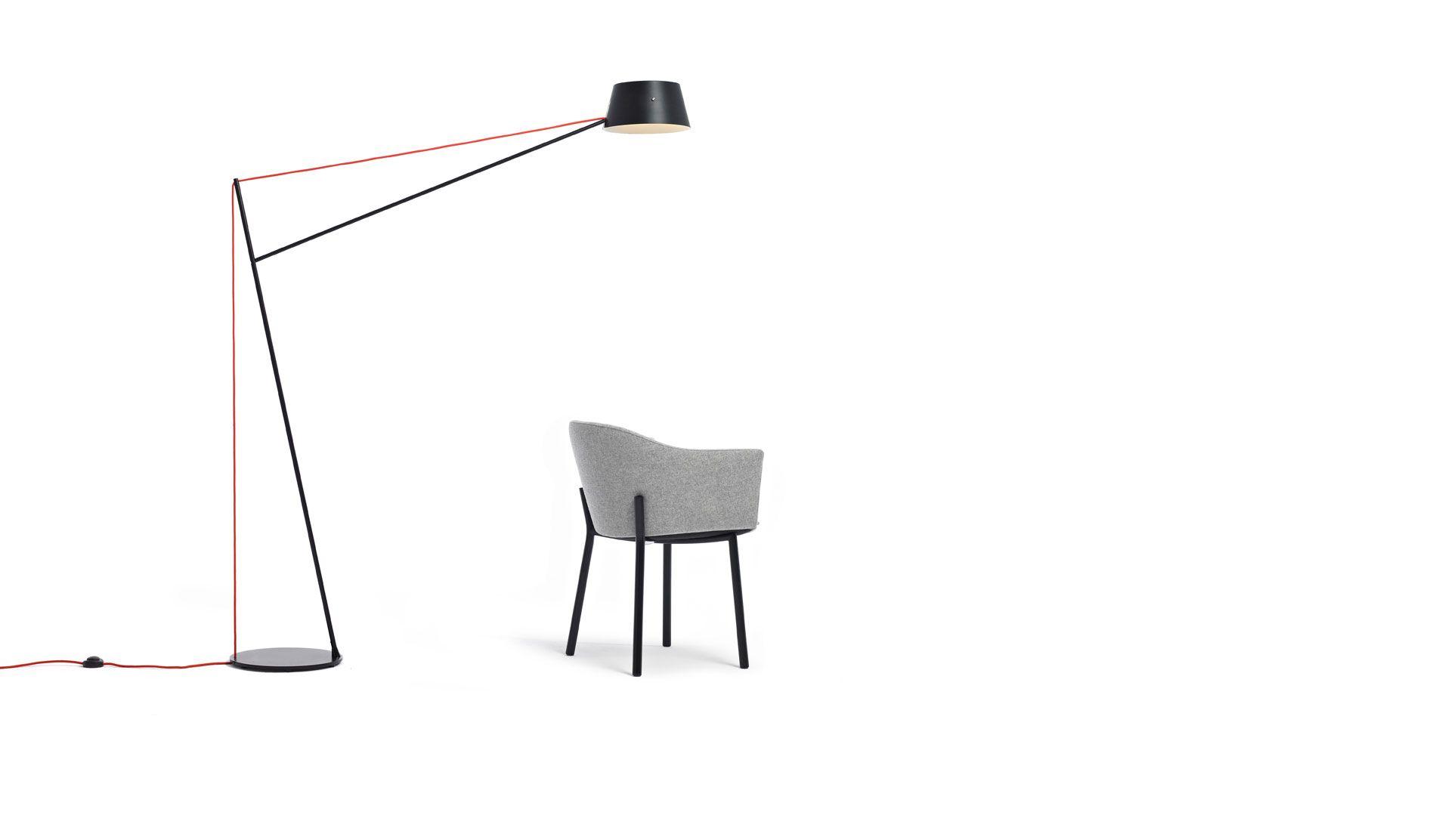 Spar Floor Light By Jamie Mclellan For Resident L Ighting I Black Floor Lamp Furniture
