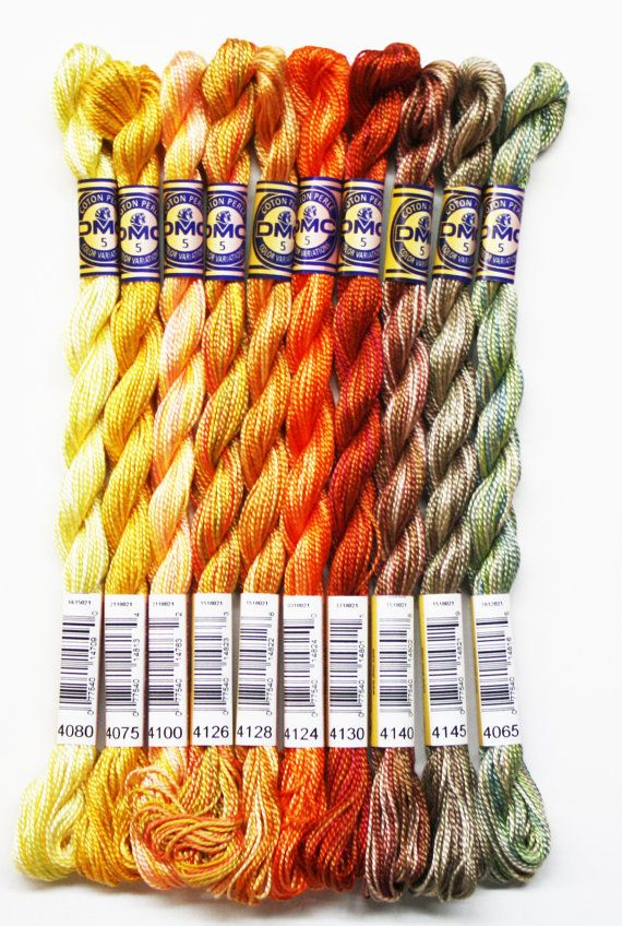 DMC Stranded Colour Variations Thread 4126 For Embroidery /& Cross stitch