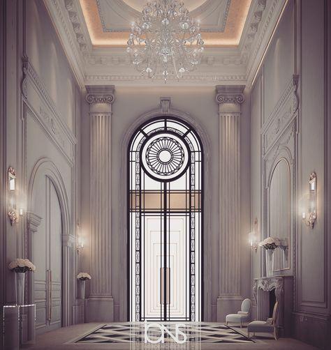 Interior Design Directory: Our Latest Grand Lobby Design - Al Ain - UAE