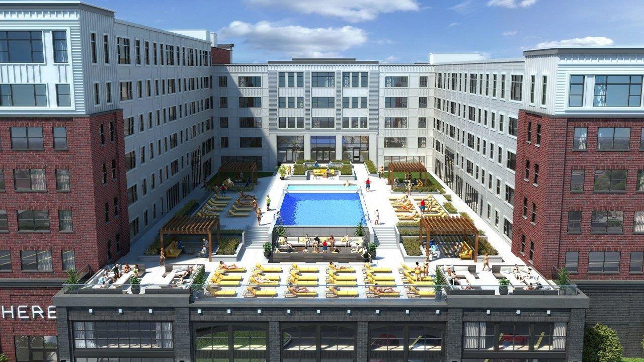 Lawrence Ks Apartment Rentals Rental Apartments Outdoor Pool Apartment