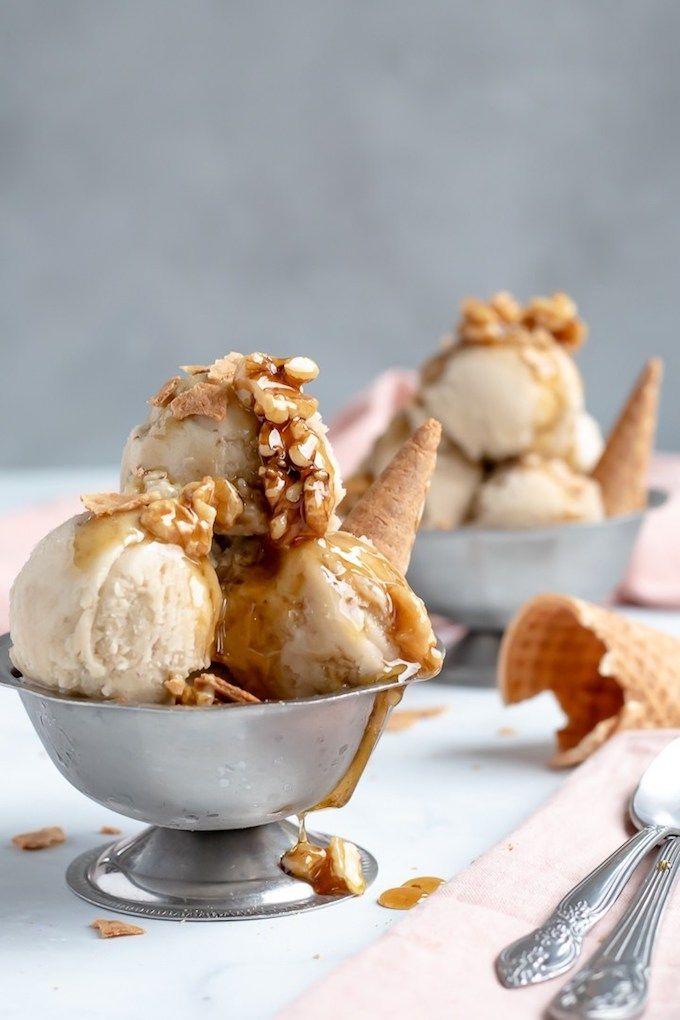 12 Homemade Dairy Free Ice Cream Recipes for Summer #healthyicecream
