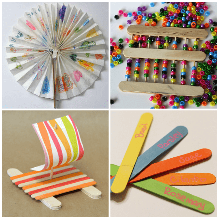 30 creative popsicle stick crafts for kids craft for Craft ideas using popsicle sticks