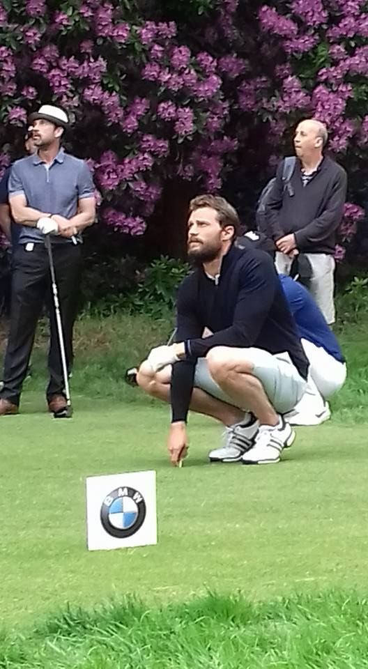 Jamie Dornan - BMW PGA Golf Championship PRO-AM Wentworth ...