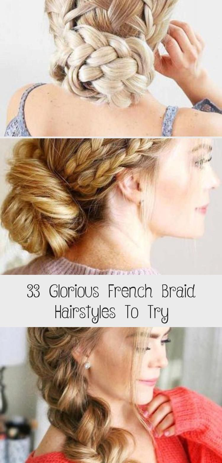 33 GLORIOUS FRENCH BRAID HAIRSTYLES TO TRY – My Stylish Zoo #bohohairstylesHipsters #bohohairstylesStepByStep #bohohairstylesSummer #bohohairstylesWrap #bohohairstylesPlaits # loose Braids pigtails 33 Glorious French Braid Hairstyles To Try #loosebraids