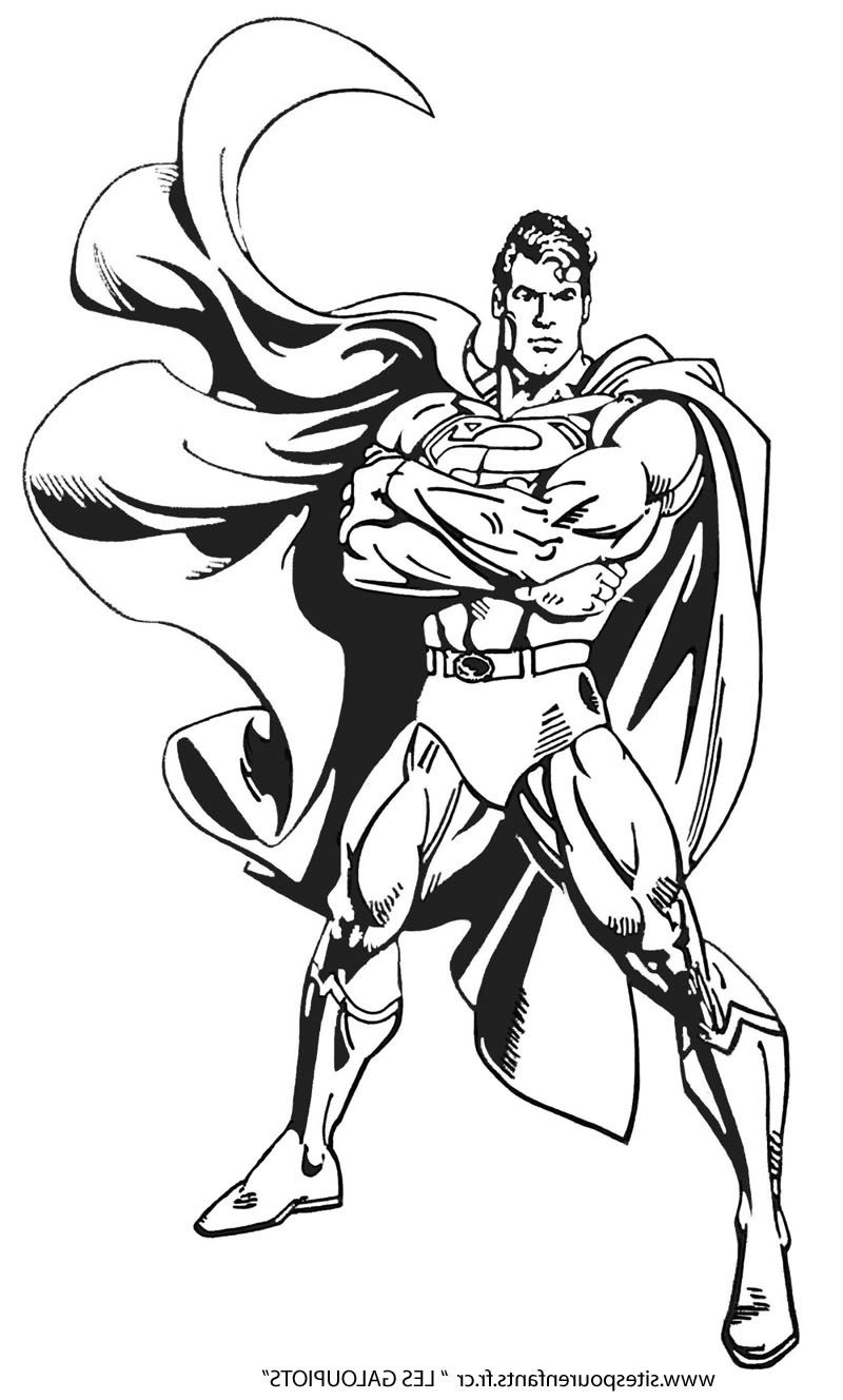 10 Precieux Coloriage Super Hero Stock Coloriage Super Heros Coloriage Superman Coloriage
