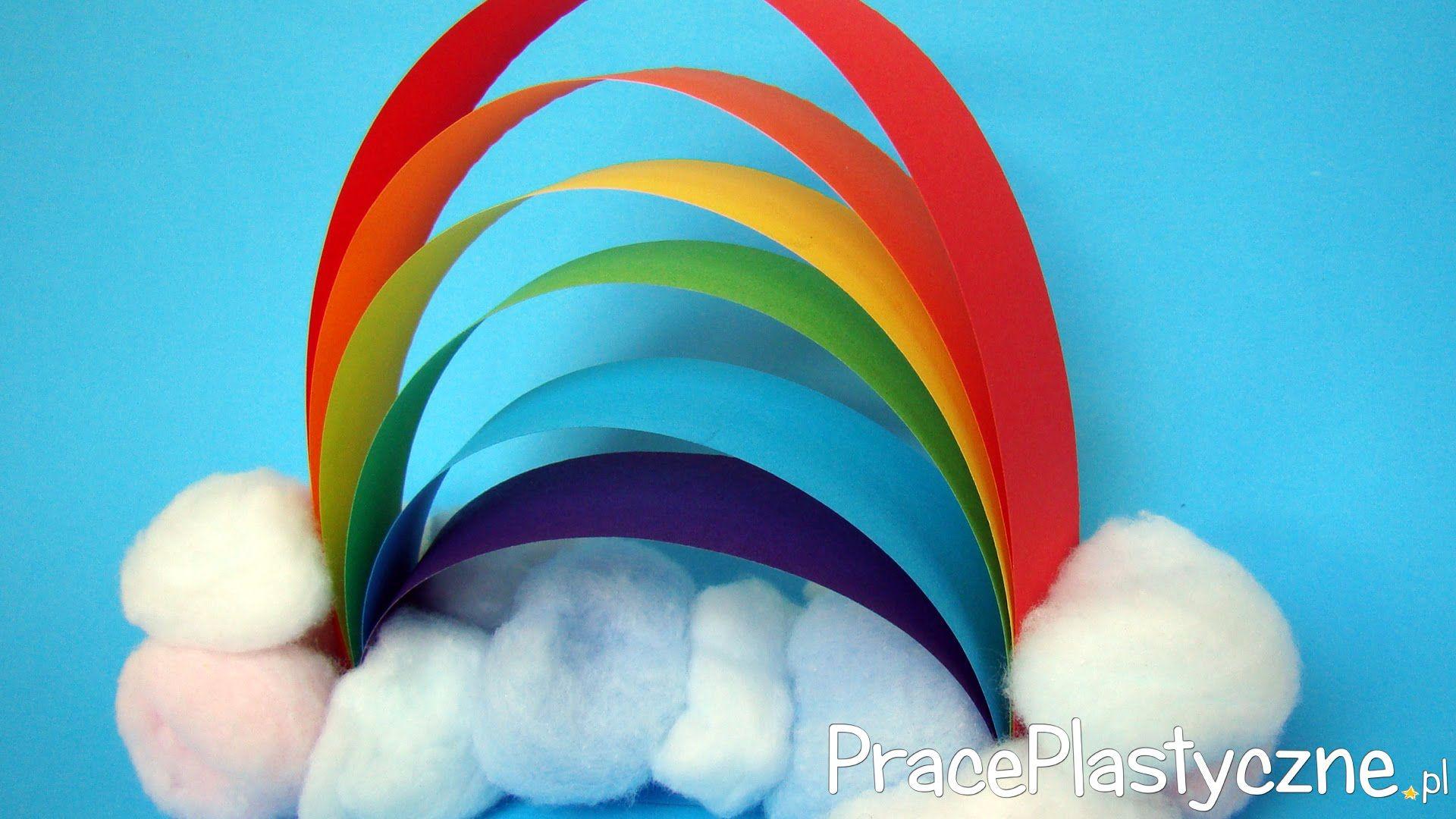 Tecza Praca Plastyczna Rainbow Crafts Kids Rainbow Crafts Rainbow Kids