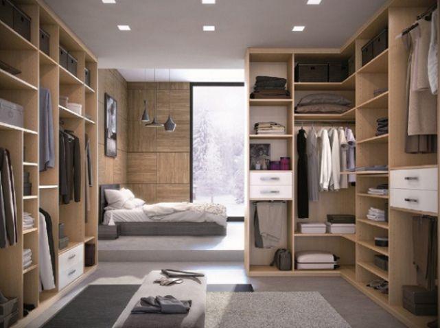 Une suite parentale pour se chouchouter Dressings, Bedrooms and Lofts