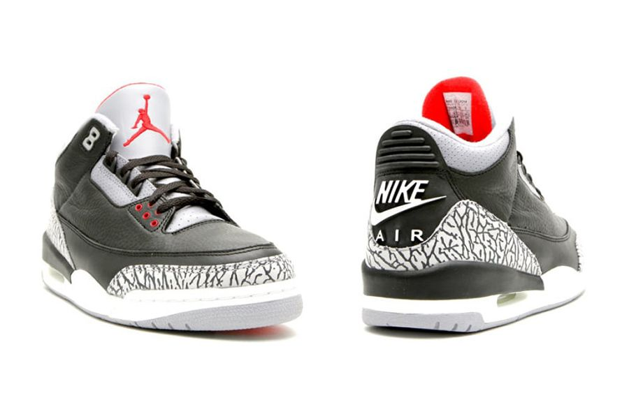 f8cbdbf48fbd Air Jordan 3 OG Black Cement 2018 Retail Price