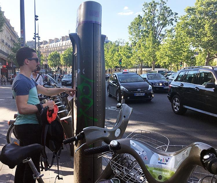 How To Use A Velib Bike In Paris Cycling Workout Bike Paris