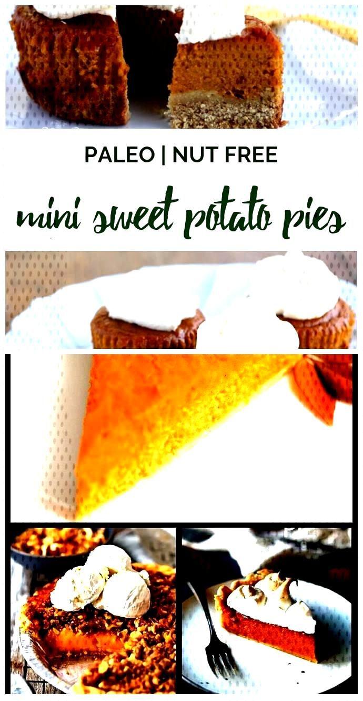 Mini Paleo Sweet Potato Pies (or Pumpkin Pies) Mini Paleo Sweet Potato Pies (or Pumpkin Pies),