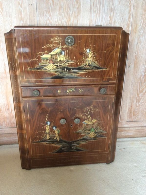 Vintage Drinks cabinet very rare wonderful condition - Vintage Drinks Cabinet Very Rare Wonderful Condition Drinks