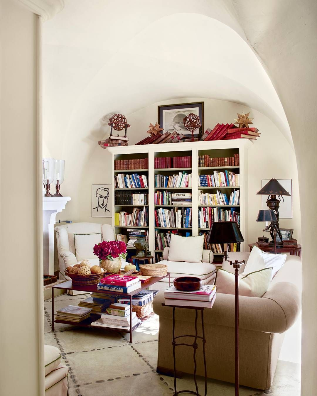 Elle Decor Bookshelves: Living Room Decor, Room Decor