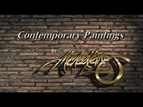 Art Recent Contemporary Paintings by Michael Lang MIX