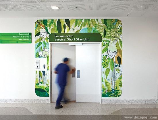 Health care design graphics