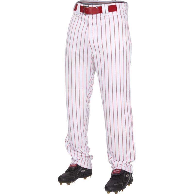Rawlings Boys Plated Insert Pinstripe Baseball Pants Baseball Pants Pinstripe Pants Pants