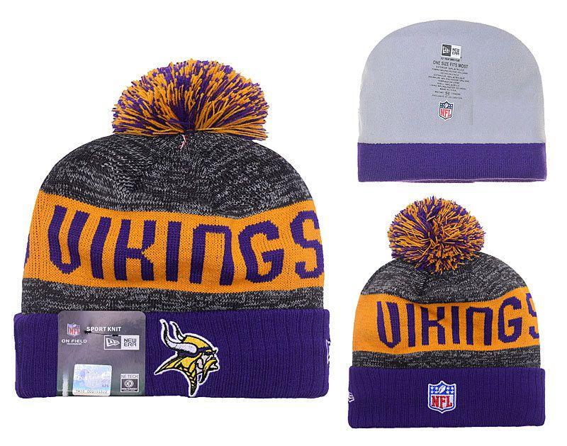 2316190c61e NFL Minnesota Viking New Era Beanies Sports Knitted Caps Hats ...