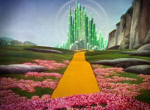 somewhere... Wizzard of Oz