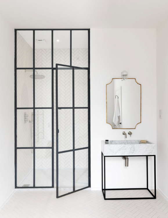 Oh Whats This How Crittall Can Transform Your Bathroom Steel Framed Shower Doors Framed Shower Door Luxury Master Bathrooms