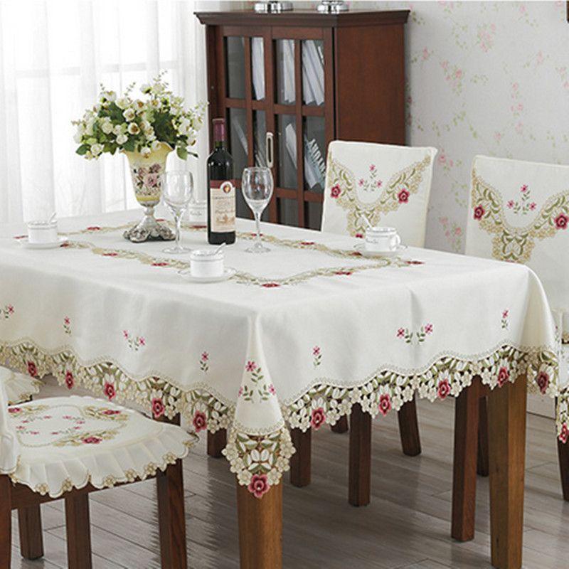16+ Elegant dining room table cloths Various Types