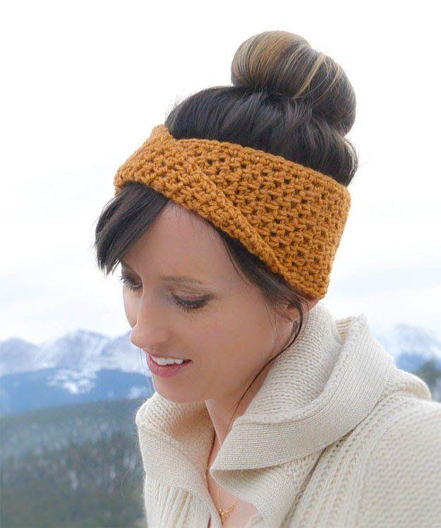 Twist Crochet Headband 17 Amazing Crochet Patterns For Beginners