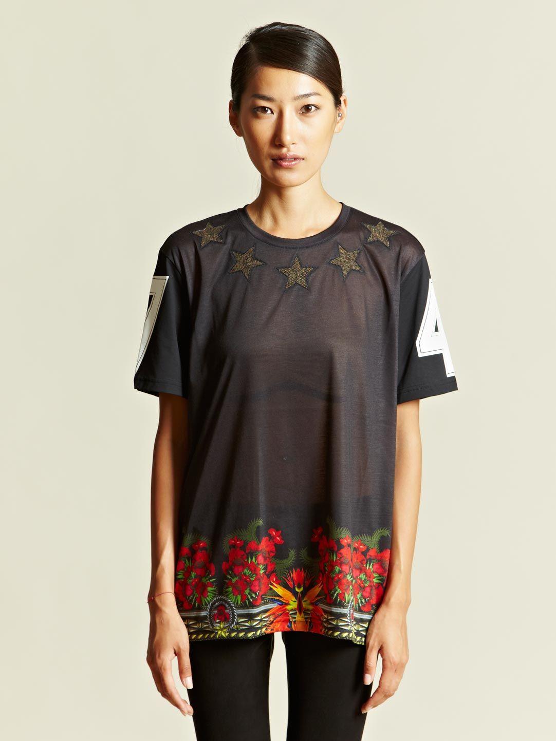 Givenchy Women's Printed T-shirt   LN-CC